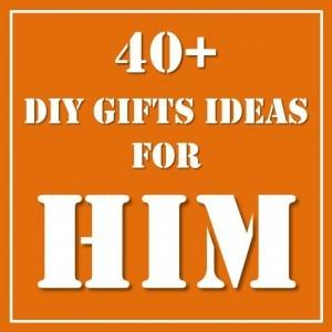 40 DIY Gift Ideas For Him