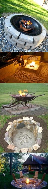 47 incredible diy backyard firepit ideas