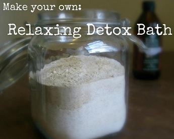 DIY Ultimate Detox Bath