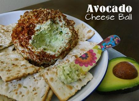 avocado cheese ball recipe