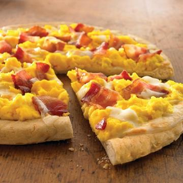 bacon and egg breakfast pizza recipe
