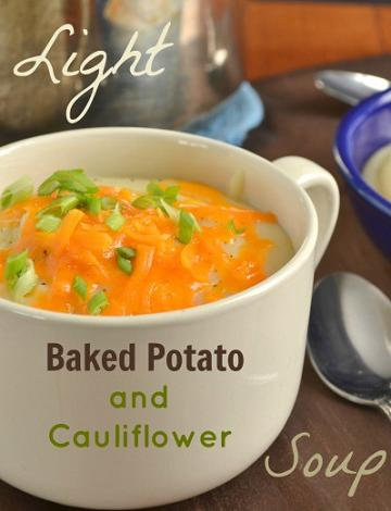 baked potato and cauliflower soup recipe