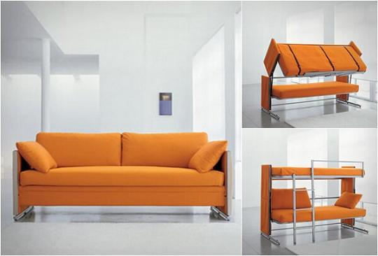 Couch Bunk Bed Convertible Sofa Bed
