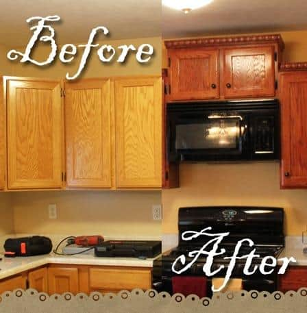 redo kitchen cabinets diy diy kitchen remodel and photos 25202