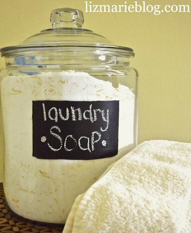 diy laundry soap detergent
