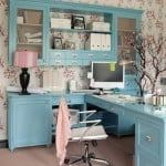feminine home office design ideas