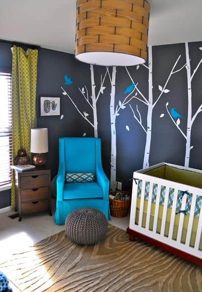forest whimsical nursery ideas