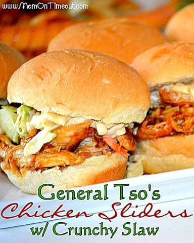 general tso's chicken sliders recipe
