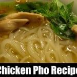 homemade chicken pho recipe