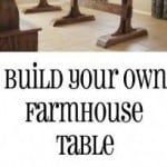 how to build your own farmhouse table diy