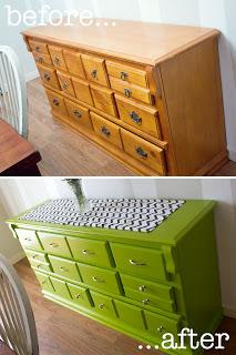 how to refinish a dresser without sanding