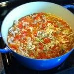lazy cabbage roll soup recipe