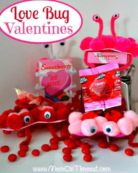 love bug diy valentine crafts for kids