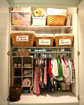 nursery storage and decor ideas
