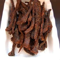 oven dried peppered beef jerky