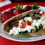 quick easy roast beef gyro recipe