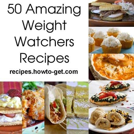 50 amazing weight watchers recipes