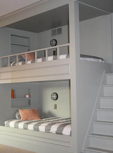 Admirable 30 Amazing Bunk Bed Ideas Diy Cozy Home Largest Home Design Picture Inspirations Pitcheantrous