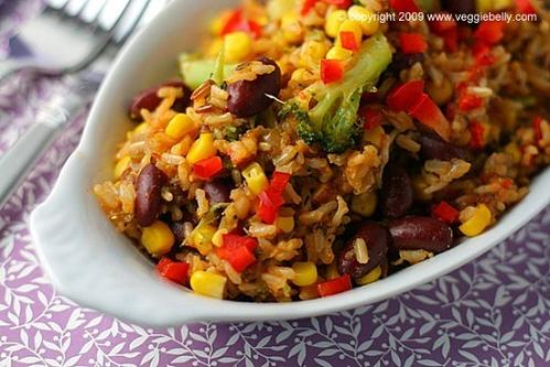 cajun brown rice and red beans recipe