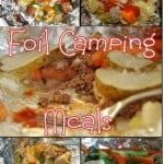 camping food recipes foil cooking meals