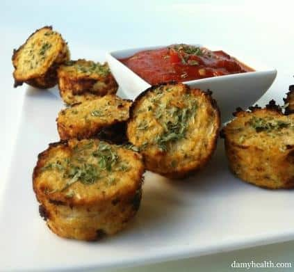 cauliflower pizza bites recipe