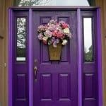 colorful front door boost home value