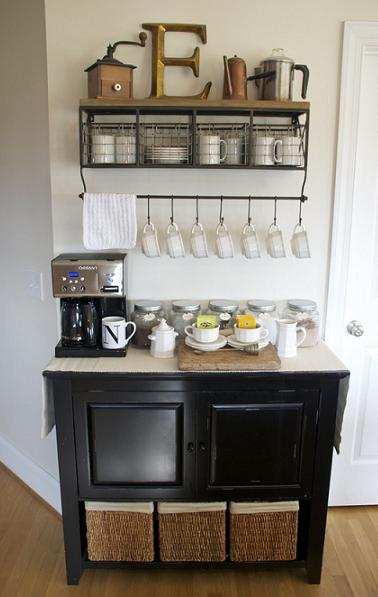 diy home coffee bar