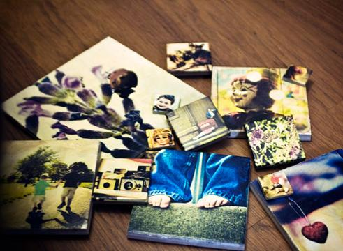 diy picture tiles project
