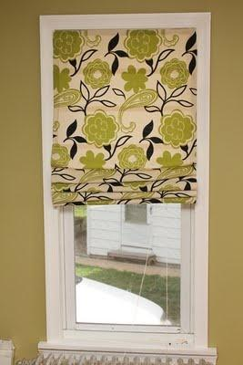 diy roman shades tutorial instructions