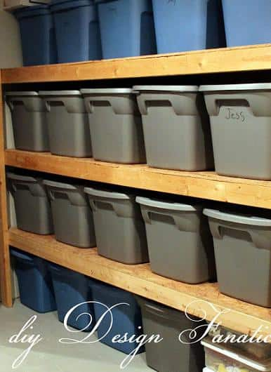 diy storage tutorial basement or garage