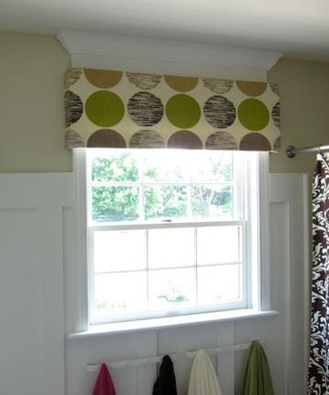 diy valance no sewing required