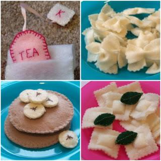 felt food craft tutorials ideas