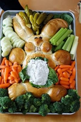 fun easter bunny bread idea
