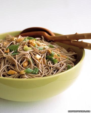 ginger peanut somen noodles recipe