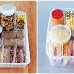 healthy snack boxes for pantry and fridge