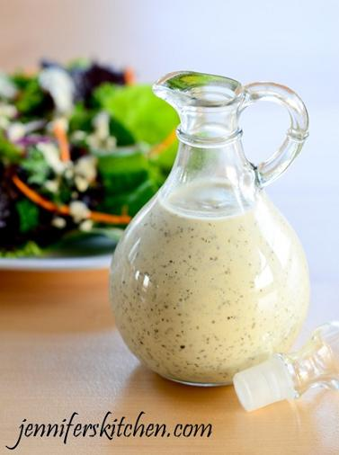 homemade creamy italian salad dressing
