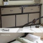 how to build a faux dresser murphy bed