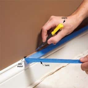 how to paint a room painting tips