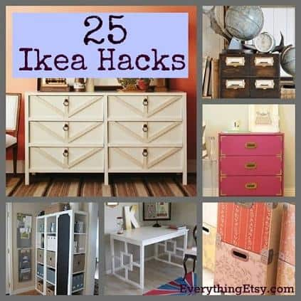 ikea hacks ideas