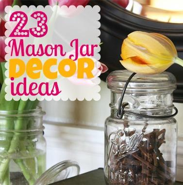 23 DIY Mason Jar Decorating Ideas | DIY Cozy Home