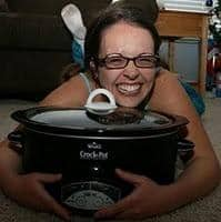mom uses slow cooker every day for a year