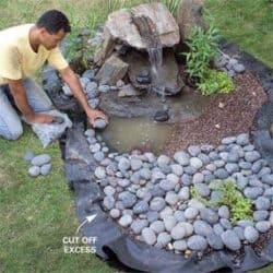 pondless disappearing garden fountain