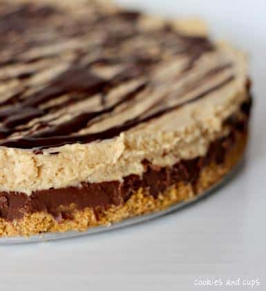 reeses fudge pie recipe dessert