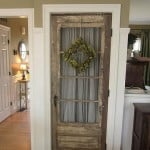 repurpose old salvaged doors decor