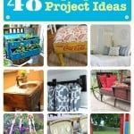 repurposed diy projects ideas