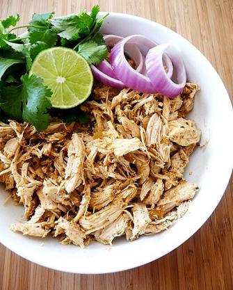 shredded tex mex crock pot chicken