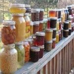 tons of canning recips by season