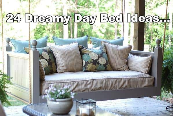 24 dreamy day bed ideas patio porch swings