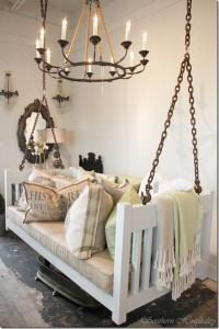 hanging bed display