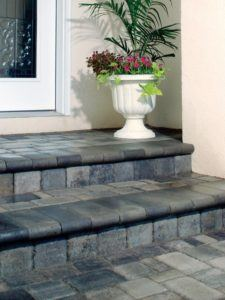 Cover an old stoop w Pavers
